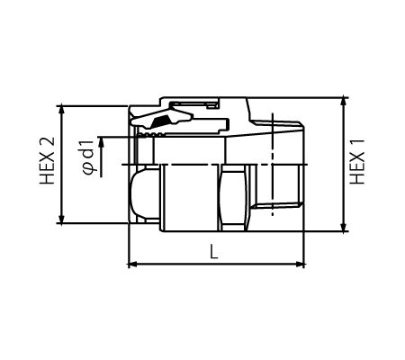 Coupling Standards Chart · Schematic Drawing · TC3-S