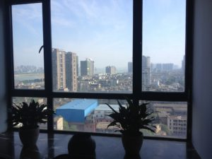 View from the window in EXJ China